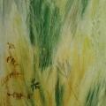 """81. Штеренберг Давид """"Травы. Из цикла """"Травы"""" 1929 Холст, масло 67х59 Из собрания семьи художника"""