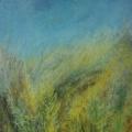 """83. Штеренберг Давид """"Ветер. Из цикла """"Травы"""" 1929 Холст, масло 52х40 Из собрания семьи художника"""