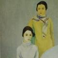 """89. Штеренберг Давид """"Семья художника"""" 1929 Холст, масло 116х98 Из собрания семьи художника"""