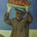 """95. Штеренберг Давид """"Мальчик с грушами"""" 1930 Холст, масло 99х70 Из собрания семьи художника"""