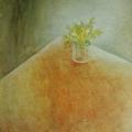 """97. Штеренберг Давид """"Цветы в стакане"""" 1934-1935 Холст, масло 74,5х60,5 Из собрания семьи художника"""