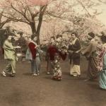 Неизвестный автор «На холме Ногэ в Йокогама» 1880-1890-е. Предоставлено: Мультимедиа Арт Музей.