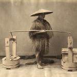 """Неизвестный автор """"Продавец тофу"""" 1880-1890-е. Предоставлено: Мультимедиа Арт Музей."""