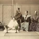 Неизвестный автор «Театрализованная сцена сэппуку» 1880-е. Предоставлено: Мультимедиа Арт Музей.