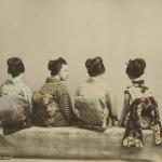 Неизвестный автор «Японские танцовщицы» 1880-1890-е. Предоставлено: Мультимедиа Арт Музей.
