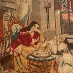 """Выставка """"Старинные вышивки"""". Предоставлено: Музей В.А. Тропинина и московских художников его времени."""