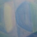 """23. Стерлигов Владимир """"Море"""" 1962 Холст, масло 35Х45 Государственный музей истории Санкт-Петербурга"""