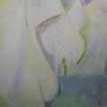 """29. Стерлигов Владимир """"Пустынник"""" 1967 Холст, масло 68х88 Государственный Русский музей"""