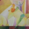 "36. Стерлигов Владимир ""Натюрморт. Окружающая геометрия"" 1973 Холст, масло 33х44 Из собрания А.Б.Стерлигова, Москва"