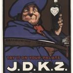 """Неизвестный художник """"Попробуй его на вкус: Джин J. D. K. Z"""" 1900-е. Предоставлено: © ГМИИ имени А.С. Пушкина."""