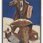 """Альберт Джордж Морроу """"Жаль, что я не отправил это городской железной дорогой"""" 1900-е. Предоставлено: © ГМИИ имени А.С. Пушкина."""