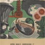 """Эдвард Боуден """"Станция подземки Кью Гарденс. Сады Кью"""" 1936. Предоставлено: © ГМИИ имени А.С. Пушкина."""
