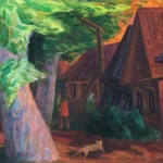 "Светлана Атаханова ""Летний вечер в Нерехте"" 2011. Предоставлено автором."