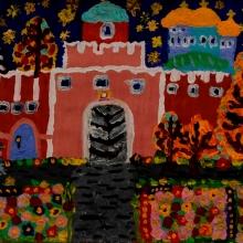 Виктория Желтякова, 7 лет. Предоставлено: Всероссийский музей декоративного искусства.