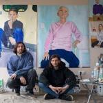Посещение студии Антона и Алексея Яковлевых. Предоставлено: Фестиваль RAUM SPACE.