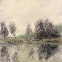 """Валерий Котов """"У озера"""" 2002. Предоставлено: Зверевский центр современного искусства."""
