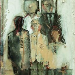 Валерий Лукка. Бродяга и Борей. Предоставлено: Музей Анны Ахматовой в Фонтанном Доме, Санкт-Петербург.