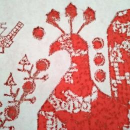 Виктория Хан-Магомедова. Текстильные вселенные Веры Занегиной. Фотография предоставлена Верой Занегиной.