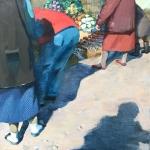 """Виктория Удалова """"Вербное"""" 2020. Предоставлено: Alpert Gallery."""