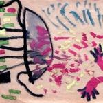 """Лот 10. Олег Котельников """"Пришельцы"""" 1988. Предоставлено: VLADEY."""