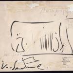 """Валентин Самарин """"Метаморфозы"""" (оборотная сторона) 1998. Предоставлено: Московский музей современного искусства - ММОМА."""