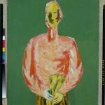 """Эдуард Криммер """"Без названия (Двухсторонняя композиция)""""  (оборотная сторона) 2-я половина 1920-х. Предоставлено: Московский музей современного искусства - ММОМА."""