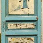 """Инал Савченко """"Дверь в мастерскую"""" 1990-е. Предоставлено: Московский музей современного искусства - ММОМА."""