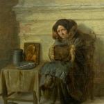 """Николай Рачков """"Накануне праздника"""" 1868. Собрание Государственного Русского музея."""