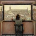 Т.Н. Яблонская «Вечер. Старая Флоренция» 1973. Собрание: Государственная Третьяковская галерея. Предоставлено: Государственная Третьяковская галерея.
