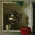 Г.М. Коржев «Самовар» 1984. Собрание: Государственная Третьяковская галерея. Предоставлено: Государственная Третьяковская галерея.