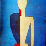 """134. Малевич Казимир """"Торс (Первообразование нового образа)"""" 1928-1932 Холст, масло 46х37 Государственный Русский музей"""