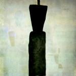 """139. Малевич Казимир """"Супрематизм. Женская фигура"""" 1928-1932 Холст, масло 126х106 Государственный Русский музей"""