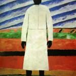 """142. Малевич Казимир """"Крестьянка"""" 1928-1932 Холст, масло 98,5х80 Государственный Русский музей"""