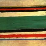 """155. Малевич Казимир """"Композиция"""" Конец 1920-х Холст, масло 40х56 Государственный Русский музей"""