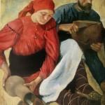 """81. Серебрякова Зинаида """"Крестьяне"""" 1914 Холст, масло 123,5х98 Государственный Русский музей"""