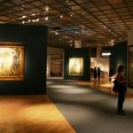 Залы выставки М.В.Нестерова в Третьяковской Галерее