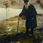 """Михаил Нестеров """"Пустынник"""" 1888-1889"""