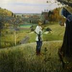 """Михаил Нестеров """"Видение отроку Варфоломею"""" 1889-1980"""