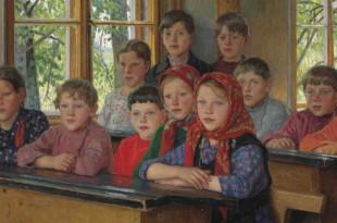 БОГДАНОВ-БЕЛЬСКИЙ Николай Петрович - Галерея произведений (33 изображения)