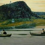 """Михаил Нестеров """"Молчание"""" 1903"""