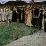 """Михаил Нестеров """"На Руси (Душа народа)"""" 1916"""