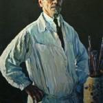 """Михаил Нестеров """"Автопортрет"""" 1928"""
