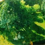 "30. Сомов Константин ""Купальщицы"" 1899 Бумага на холсте, масло 75х104,2 Государственная Третьяковская галерея"
