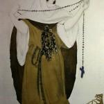"157. Бакст Лев ""Эскиз костюма для оперной певицы М.Н.Кузнецовой-Бенуа"" 1910 Бумага, карандаш, акварель Музей Эшмолеан, Оксфорд"