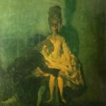 "53. Бакст Лев ""Коппелиус и Коппелия"" 1900-е Холст, масло 83х62,5 Музей-квартира И.И.Бродского, Санкт-Петербург"