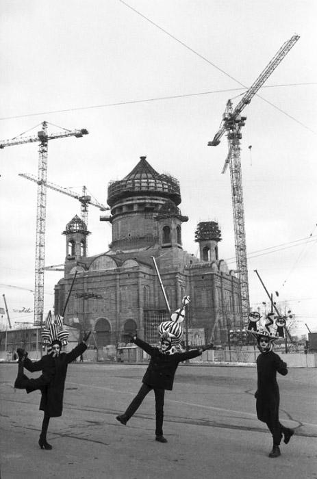 """Сергей Борисов """"Храм Христа Спасителя"""" 1996"""