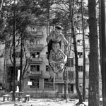 """Николай Рахманов """"Строительство пятиэтажек"""" 1960-е"""