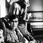 Bryan Ferry with Jerry Hall, Amsterdam, 1976
