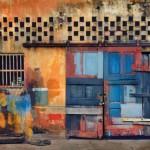 """Барри Костон """"Двери гаража. Манаус, Бразилия"""""""