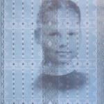 Мария Полуэктова «Линия жизни. Детский автопортрет. Мария 1985»
